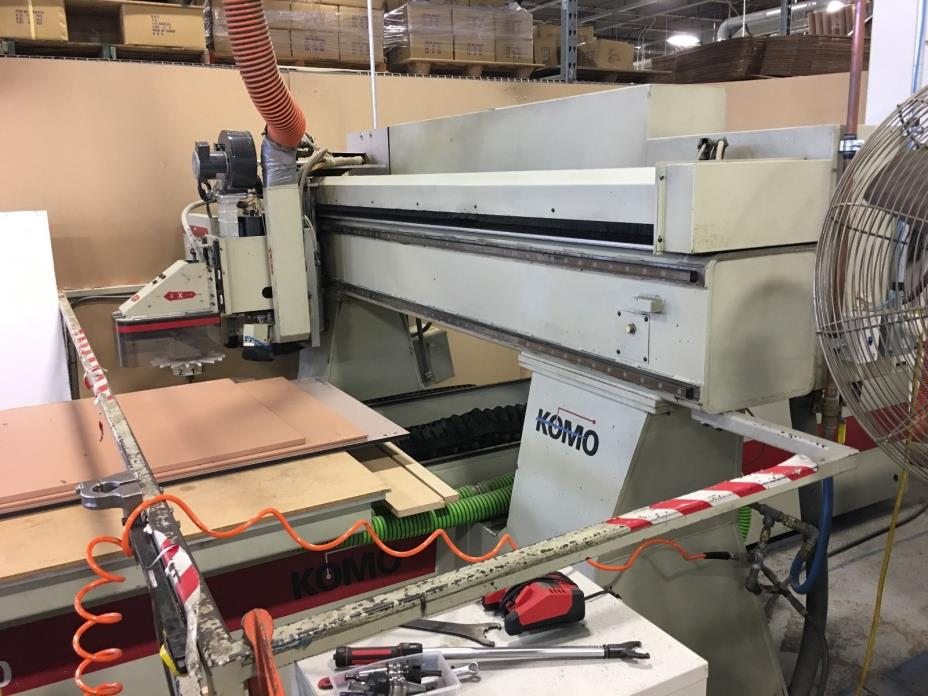 KOMO INOVA 510 CNC Router with ATC