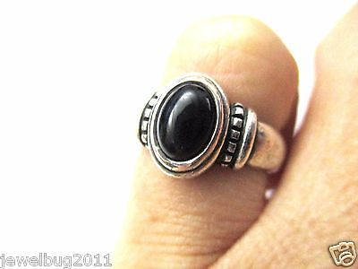 Retired James Avery Onyx Ring Sterling Silver
