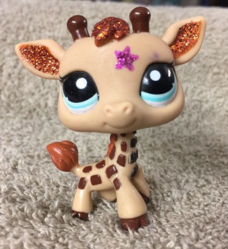 Littlest Pet Shop #2348 SPARKLE Giraffe