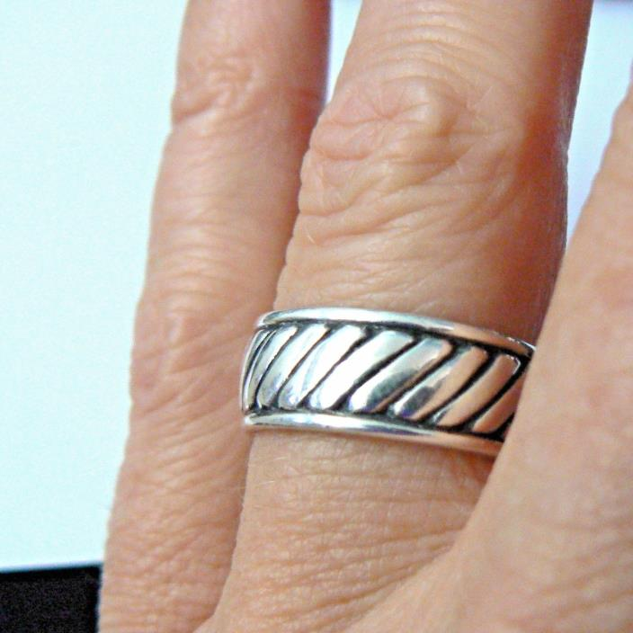 James Avery Retired Sterling Silver Band Ring