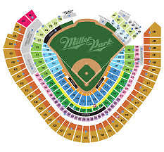 10 Milwaukee Brewers vs Chicago Cubs Tickets 04/8/17 (Milwaukee)