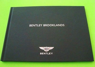 rare 2008 BENTLEY BROOKLANDS COUPE PRESS KIT Hardcover Book & CD of PHOTOS wow