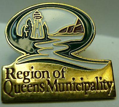 Canada Nova Scotia  Region of Queens Municipality used Hat Pin Tie Tac HP2839