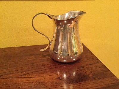 silver pitcher from Argentina