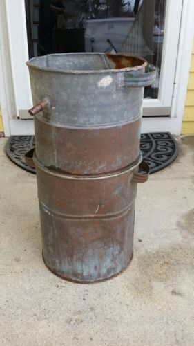 Antique Vintage Hand Made Copper Moonshine Still Boiler Old Liquor