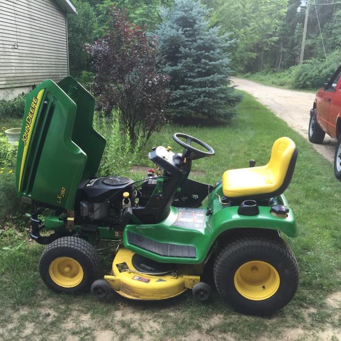 Lawn Tractor Hoods : John deere tractor hood guard for sale classifieds