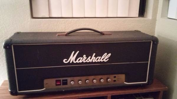 1977 Marshall JMP 2204 50 watt head