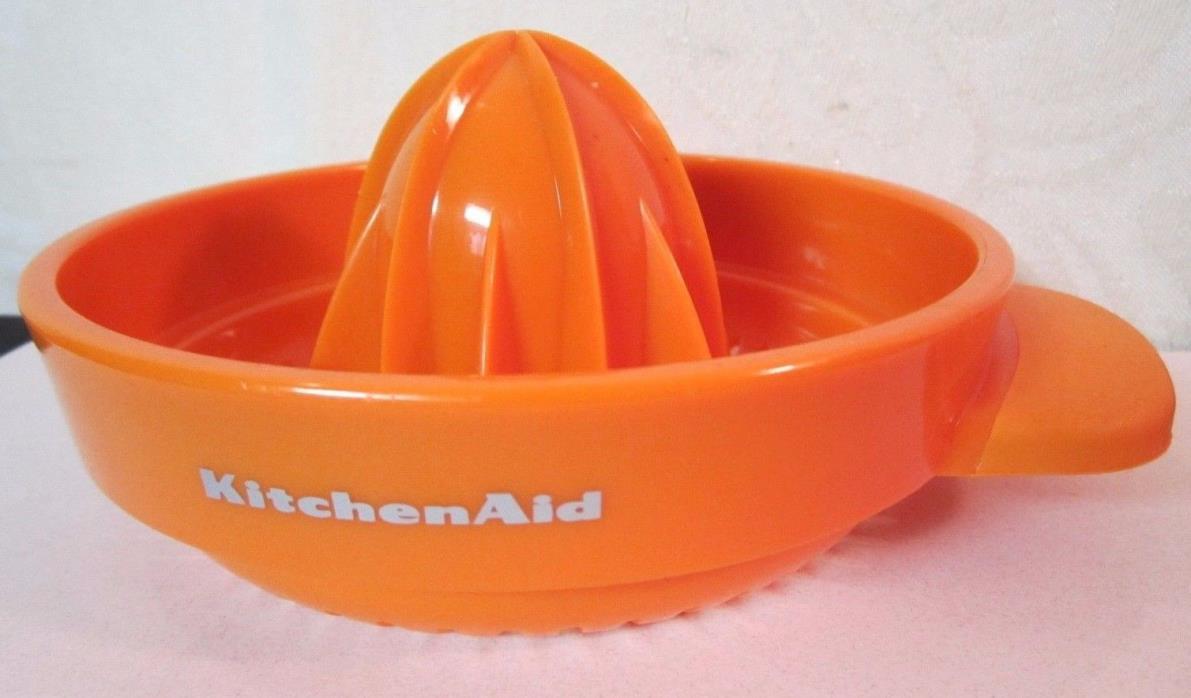 Vintage VTG Kitchen Aid Citrus Juicer Plastic Orange KitchenAid Pulp Control