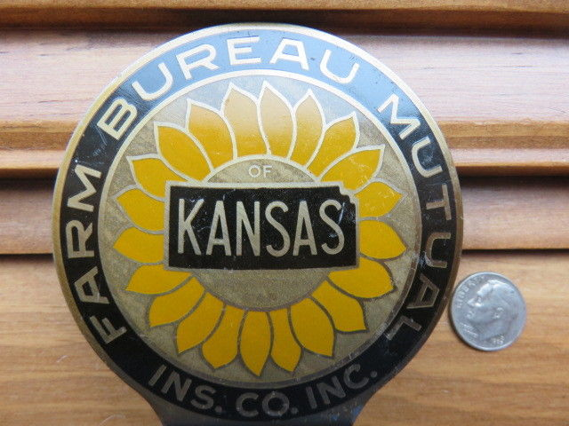 Farm Bureau  Manhattan Kansas License Plate Topper