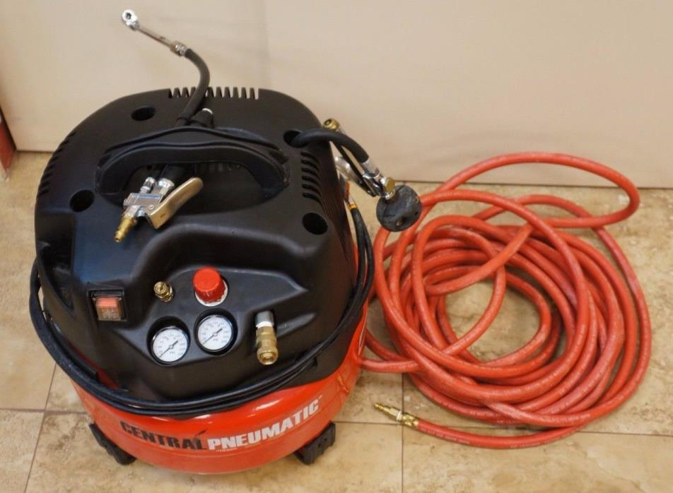 Central Pneumatic 6 gal. 1.5 HP 150 PSI Professional Air Compressor