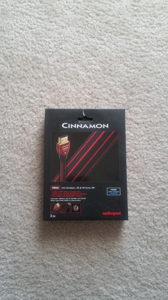 AudioQuest HDMI-Cinnamon-3M Indulgence Series HDMI 3M Cable