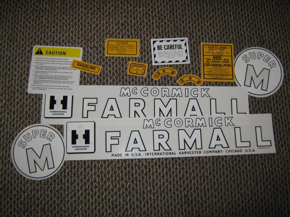 Farmall M Decal : Super m farmall for sale classifieds