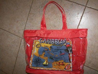Caribbean Crusing Tote Bag
