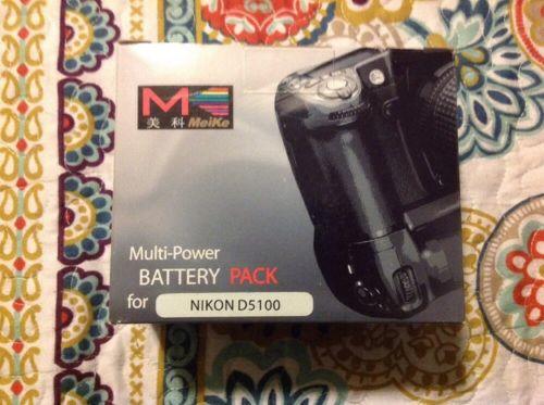 Meiki Multi-power Battery Pack For Nikon D5100
