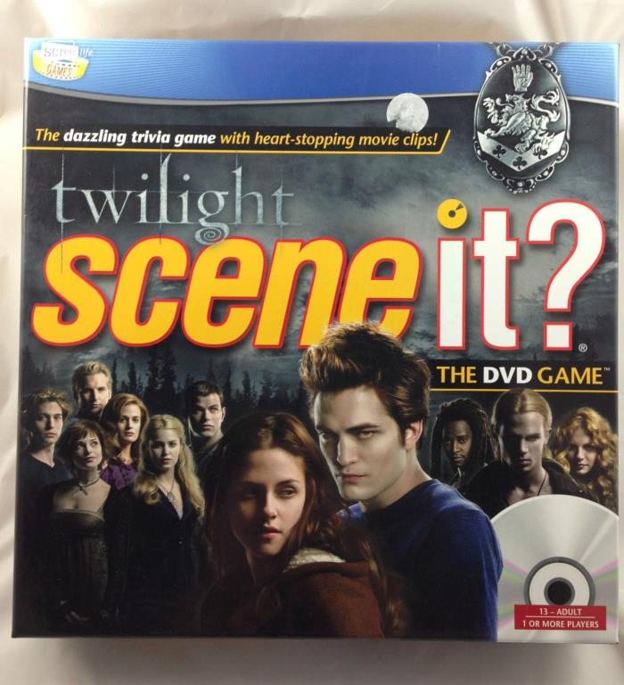 Scene It? Twilight Trivia DVD Game Movie Clips Brand New Sealed
