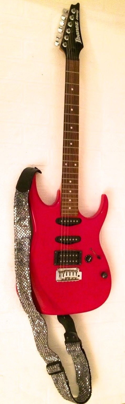 Red Ibanez Electric GUITAR