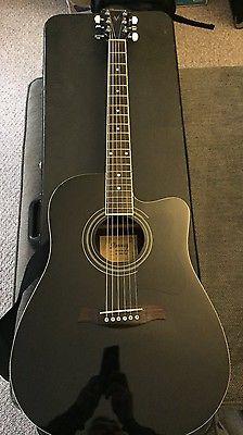 Ibanez V 70CEBK Acoustic/Electric Guitar