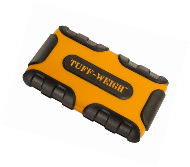 On Balance TUF-1000 Tuff-Weigh 1000 Gram X 0.1 Pocket Scale Orange