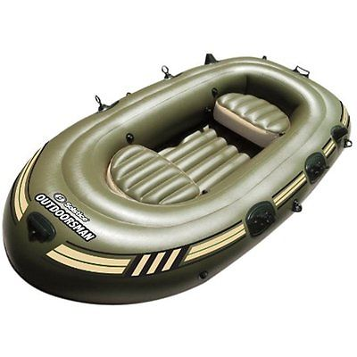Inflatable Rafts Solstice Outdoorsman 12000 Fishing Boat