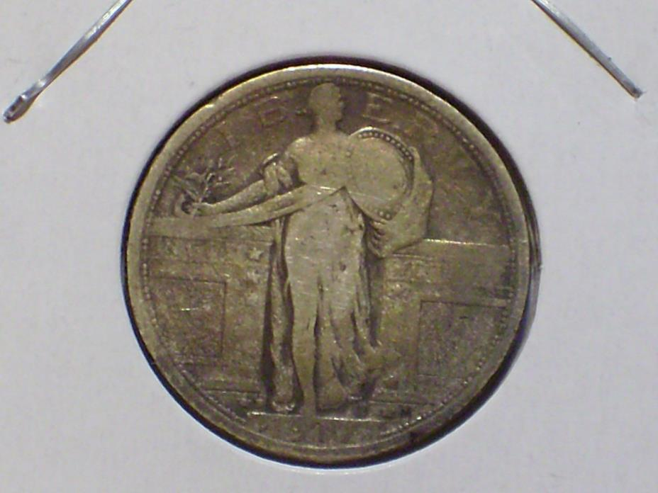 1917 D Type 1 Standing Liberty Quarter