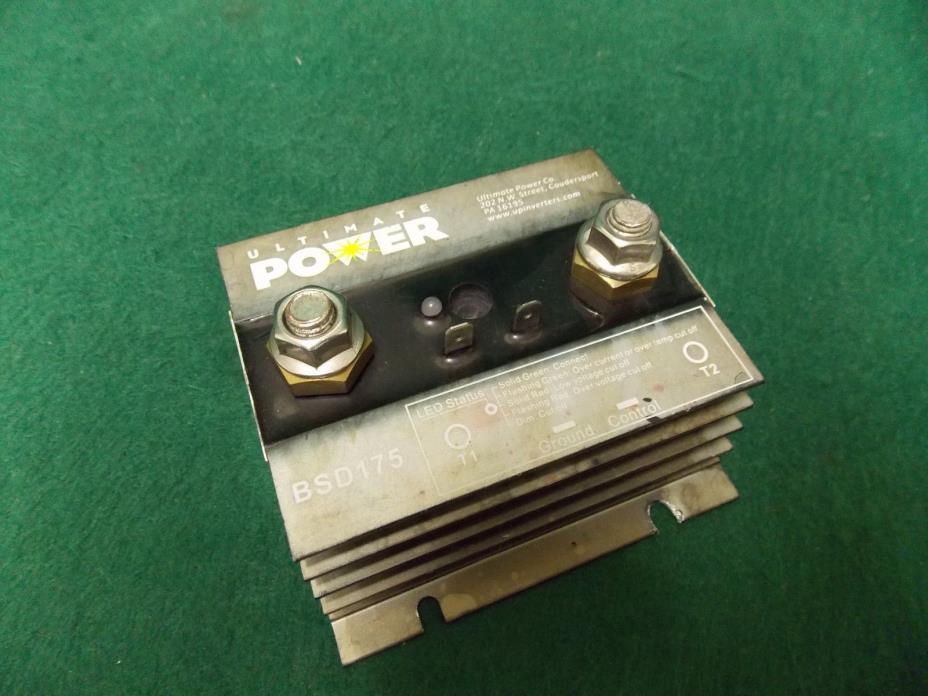 Ultimate Power Dual Battery Separator 175Amp BSD175 *