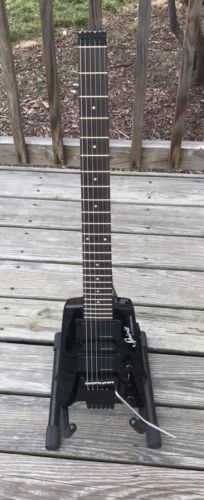 Steinberger Spirit GT-Pro Deluxe Black Electric Guitar w/ Gigbag