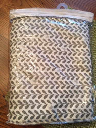 Cynthia Rowley Queen Sheet Set Olive Green Leaves Bird Polyester