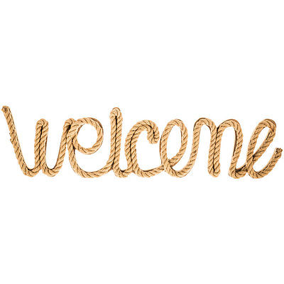 Welcome Rope Word Wall Decor.