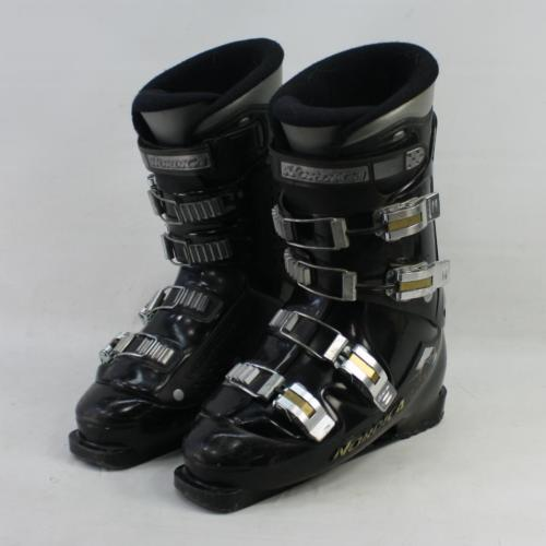 Nordica Vertech LE Ski Boots Men's Size US 9.5 Mondo 27.5 BLACK