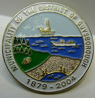 Canada Nova Scotia Guysborough Municipality used Hat Pin Tie Tac HP2841
