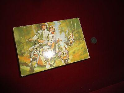 vintage avon mini bike in box full as is look