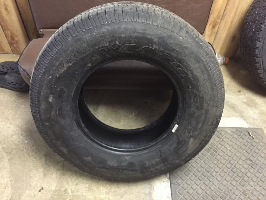 W1 Goodyear Wrangler ST P245/75/16 USED Truck Spare TIRE WHEEL 245 75 16 R16