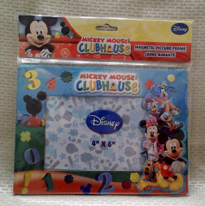Disney's Mickey Mouse Clubhouse Magnetic Frame and Mickey & Friends Journal