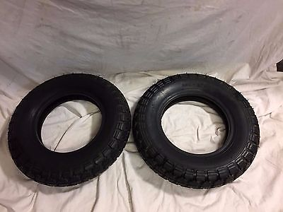 3.50 - 8 Toyoco tires pair for moped, mini bike, dirt bike, scooter