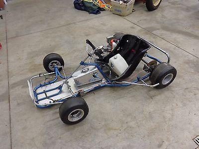 Margay Panther X Vintage racing Go Kart. complete, very nice!