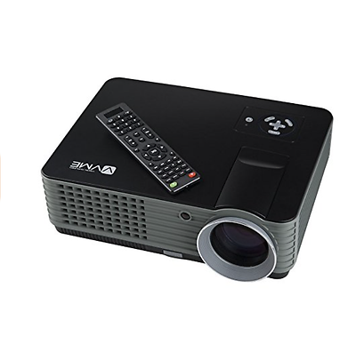 VVME VVME-HTPCD-V01B 800 x 480 HD Compatible LED Video Projector