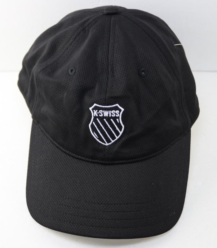 K-Swiss Runner Tennis Triathalon Hat Cap, Black, Running
