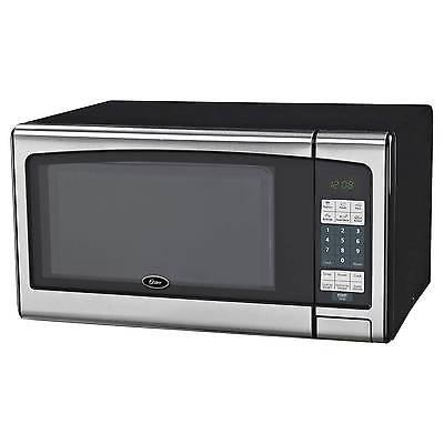 Oster 1.1 Cu. Ft. 1000 Watt Digital Microwave Oven - Stainless Steel OGJ41101