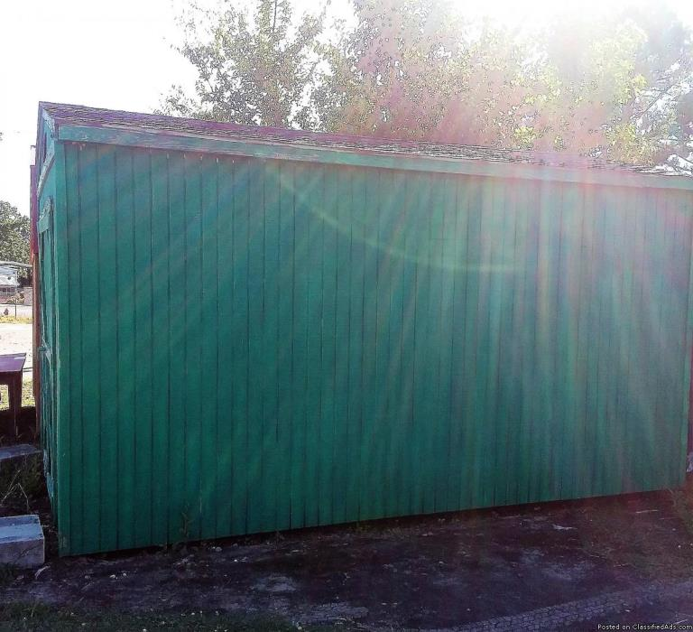 Derksen Barn Style Portable Storage Bldg. Great Condition