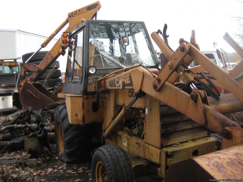 case back hoe