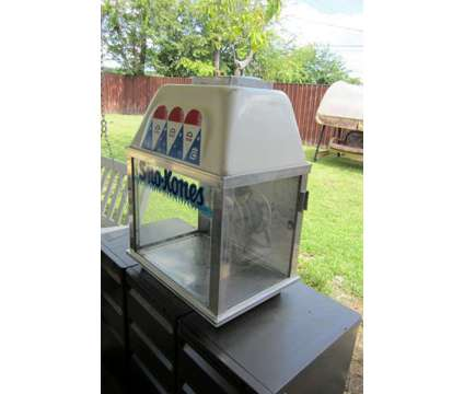 Bliz Whiz Ice Shaver Commercial Grade Sno Cone Maker Machine