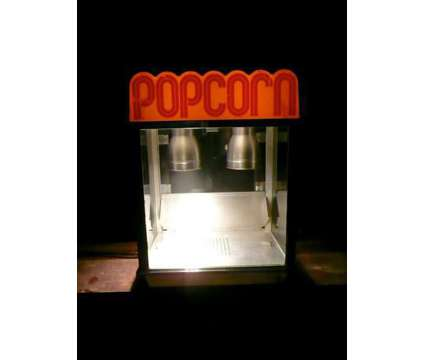 Citation Popcorn Warmer Model 2025 Gold Metal Products Man Cave