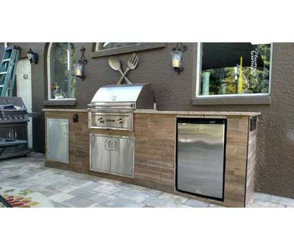 Custom Outdoor Kitchen Frames & Grills