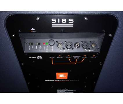 JBL EON 518S 18