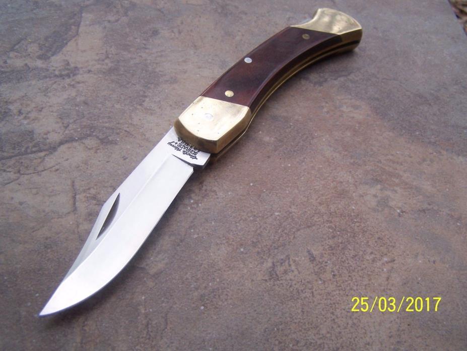 VINTAGE USA UNCLE HENRY SCHRADE LOCKBACK LOCK BLADE KNIFE