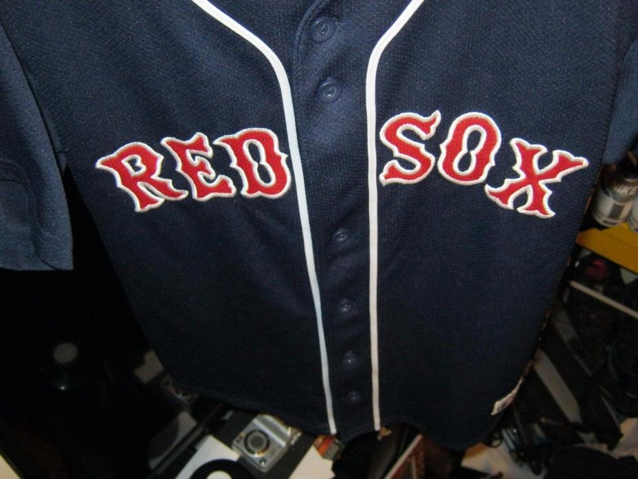 Blue Boston Red Sox Jersey SCHILLING #38