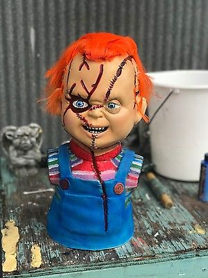 Chucky Doll Good Guy painted Prop Replica seed of bride 1:1 not latex mask