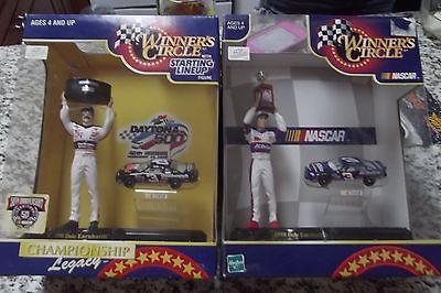 Dale Earnhardt Sr./Dale Earnhardt Jr. Starting line up by winners circle
