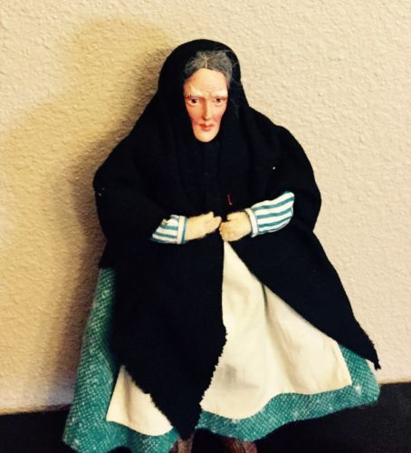Antique Russian Grandmother Doll