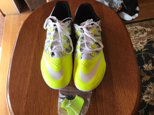New Nike Zoom Rival S 7 Men's Track Sprint Spikes 616313-702 11.5 US 45.5 EU